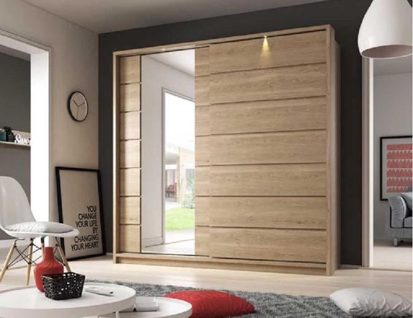 desain lemari pakaian minimalis