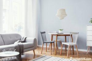 11 Inspirasi Interior Ruang Keluarga yang Menyatu dengan Ruang Makan