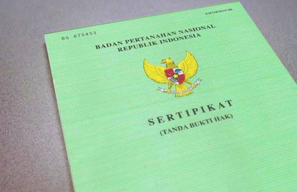 syarat sertifikat BPN