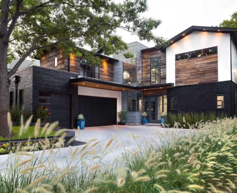Eksterior rumah minimalis