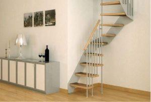 12 Desain Tangga Rumah Sempit, Cocok Banget Buat Rumah Kecil