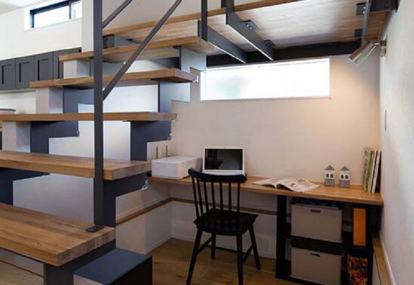 desain tangga rumah sempit