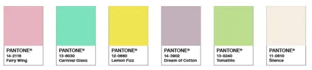 warna cat rumah pantone