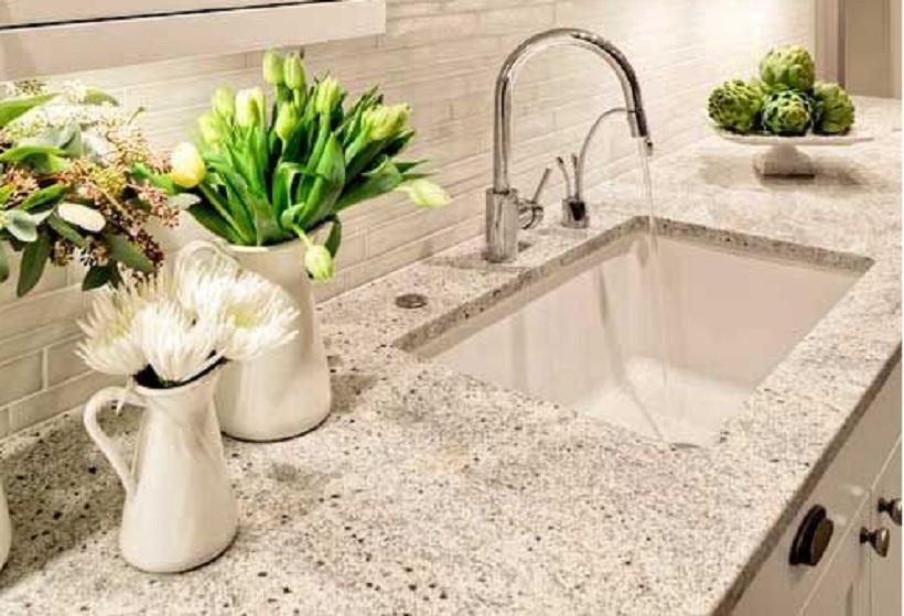 meja dapur granit