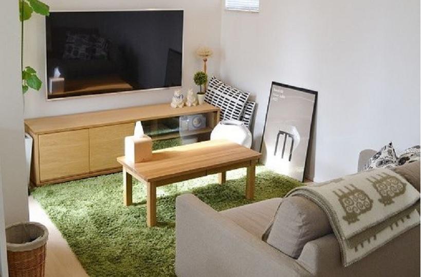 desain interior ruang keluarga