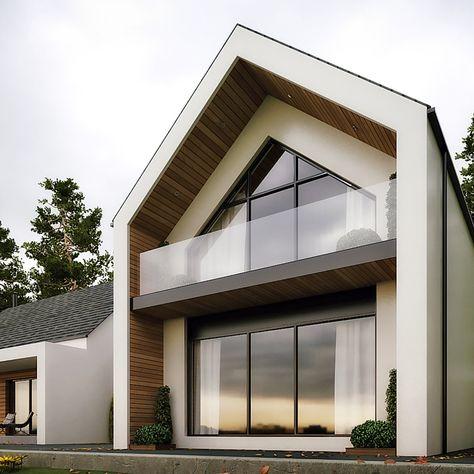 11 desain atap miring untuk rumah minimalis yang bakal