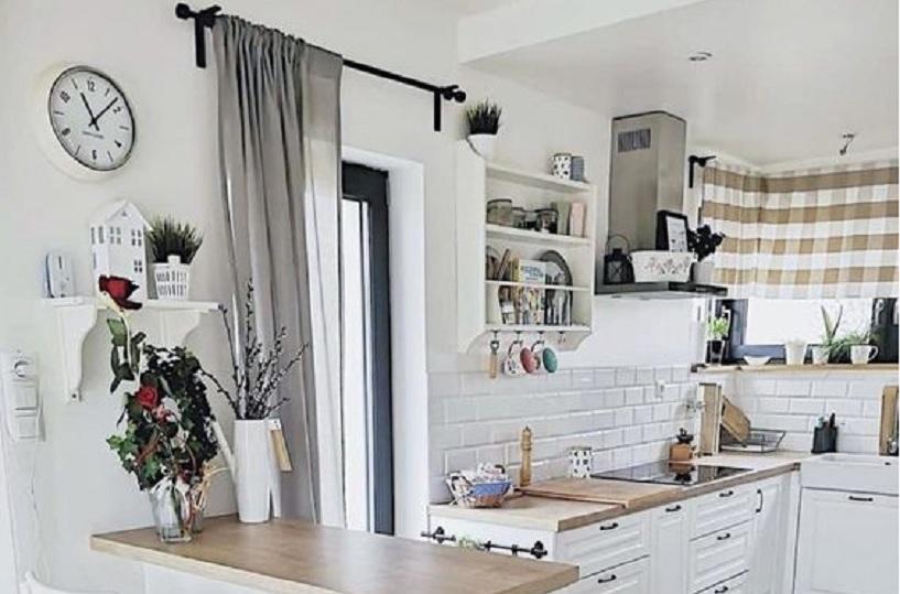 rak dapur kayu