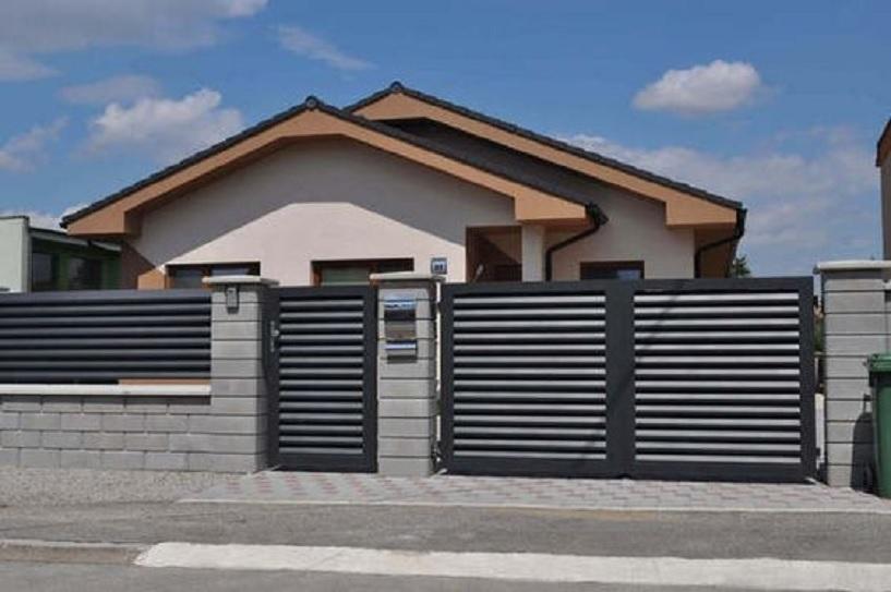 10 Gambar Warna Cat Pagar Besi Yang Bikin Rumah Terlihat Jadi Lebih Keren Rumah123 Com