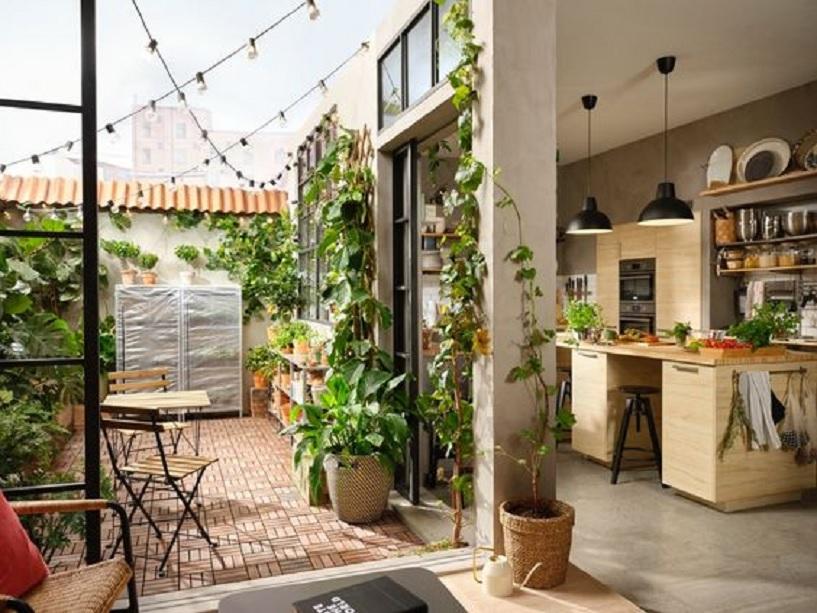 dapur luar minimalis