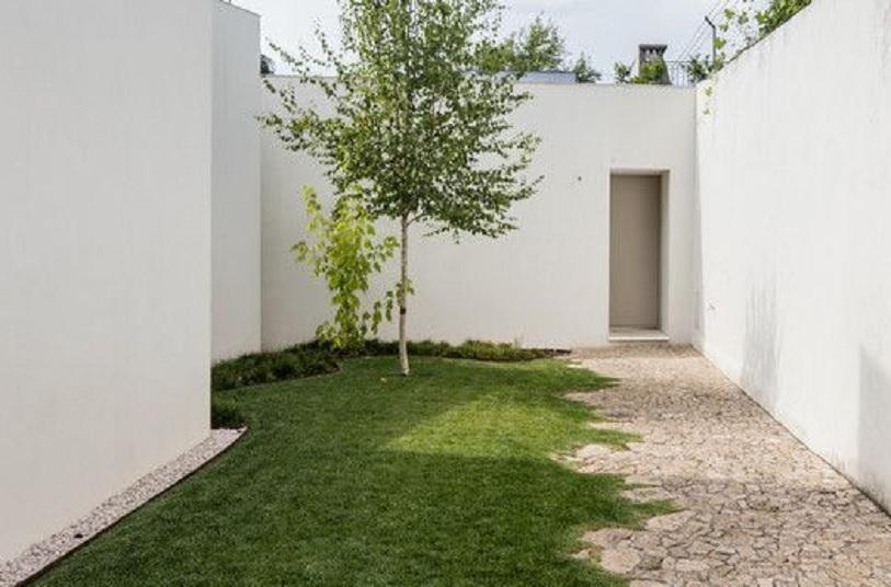 taman depan rumah minimalis