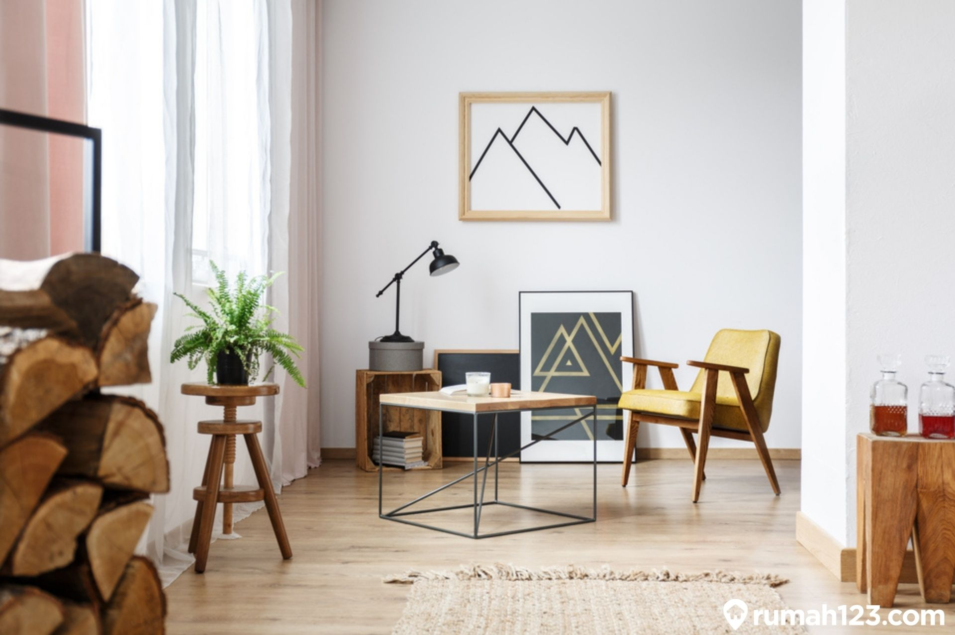 Hasil gambar untuk Desain Interior Skandinavia Pilih Warna-warna Tenang