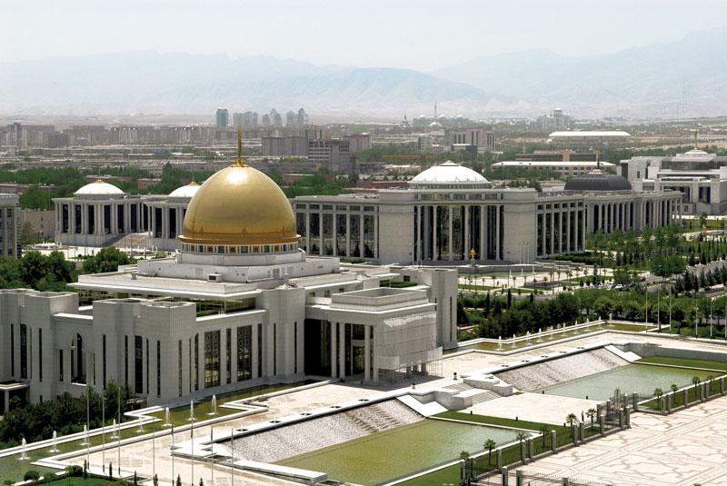 Ashgabat Turkmenistan_Negara Pecahan Uni Soviet