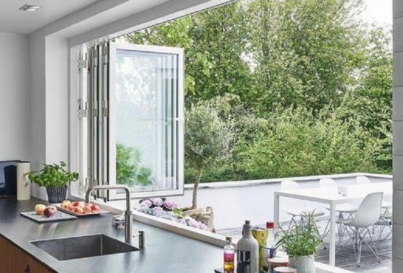 jendela dapur