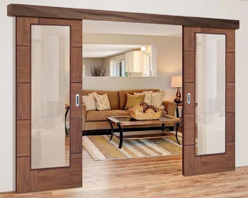 model pintu geser