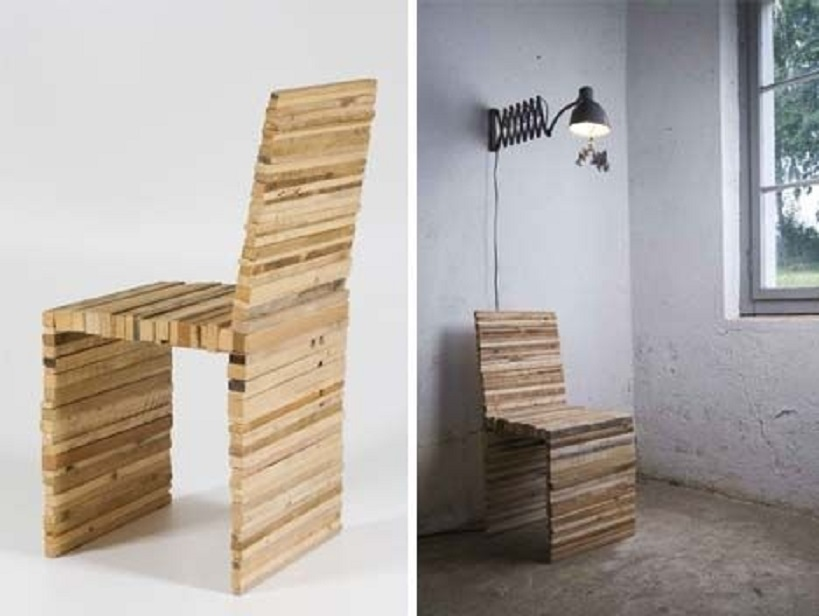 kerajinan dari kayu bekas