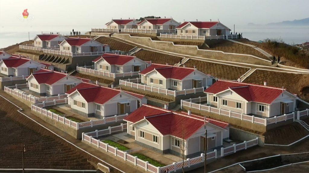 tempat tinggal korea utara