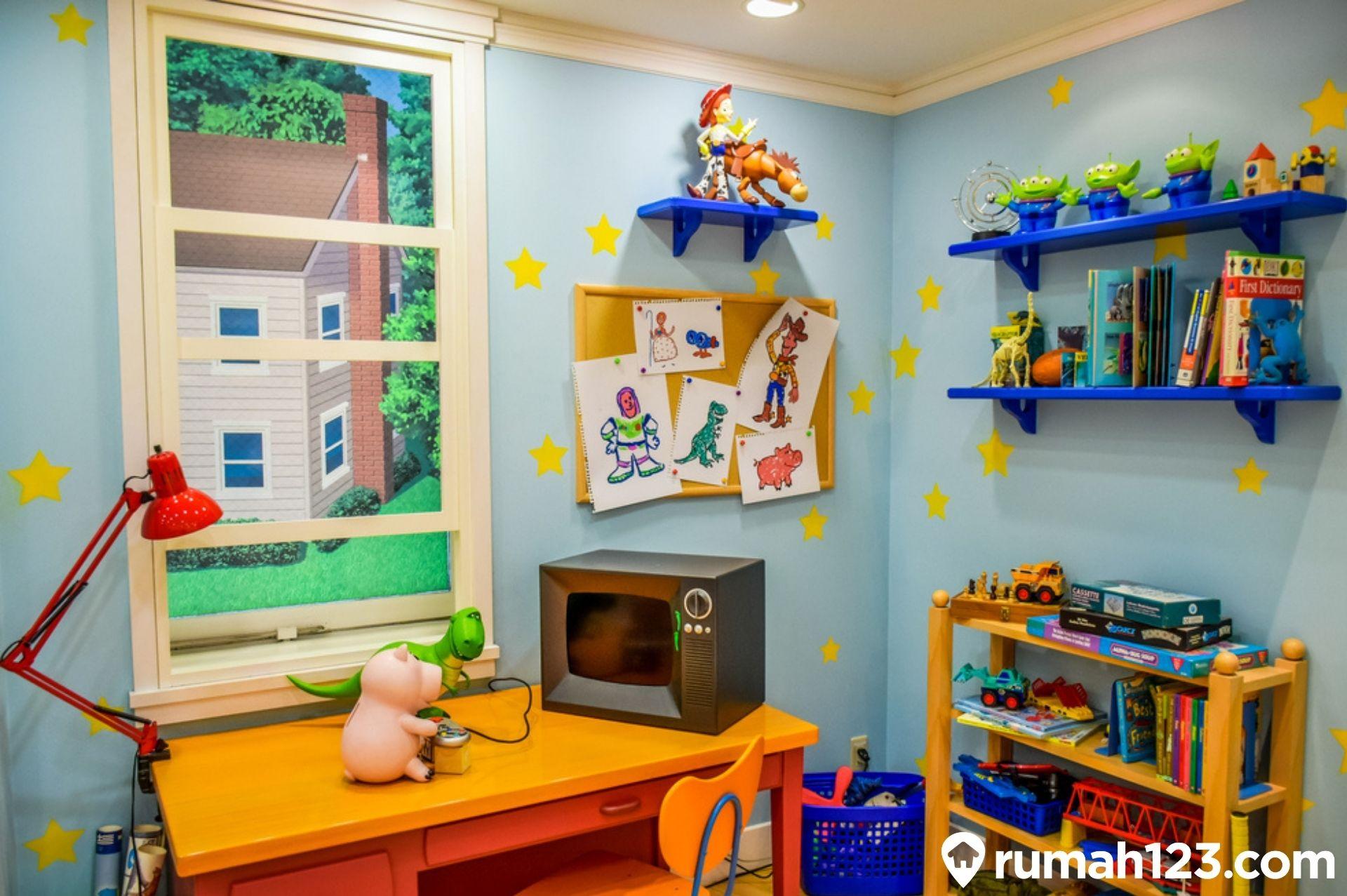10 Inspirasi Desain Interior Kamar Tidur Bertema Disney, Cocok untuk Si Kecil ya Bund!