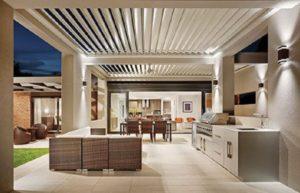 10 Desain Kanopi untuk Dapur Terbuka, Saatnya Dapur Tampil Beda