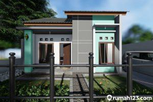 11 Gambar Rumah Minimalis Sederhana Hijau Nan Estetis
