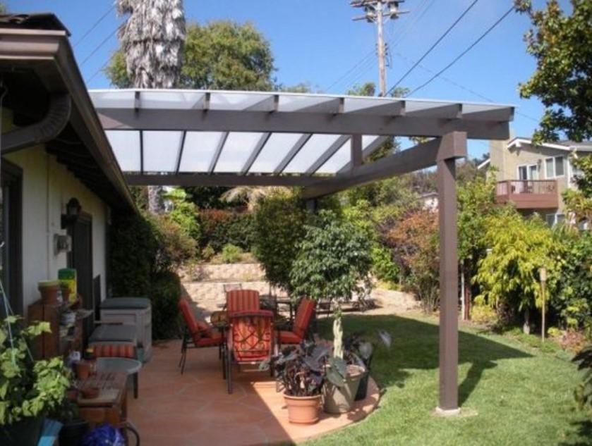 atap rumah transparan