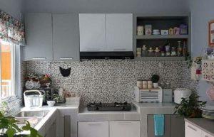 13 Model Kitchen Set Minimalis yang Indonesia Banget, Cocok untuk Kompor Gas Biasa