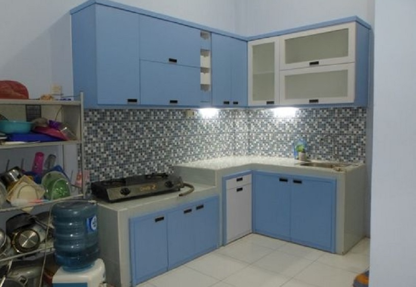 model kitchen set minimalis