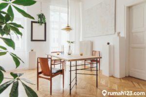 8 Inspirasi Desain Meja Makan Minimalis untuk Apartemen Studio