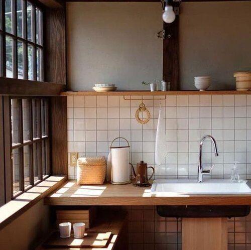 Dapur di ruangan sempit