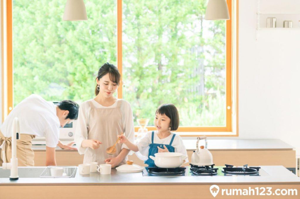 dapur minimalis ala jepang