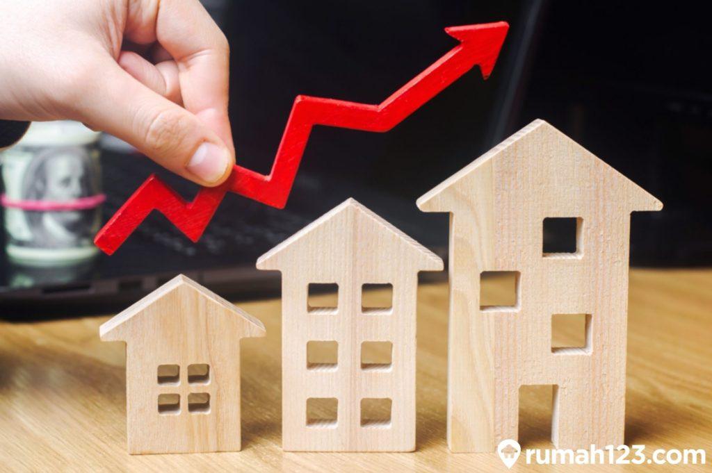 kenaikan harga rumah