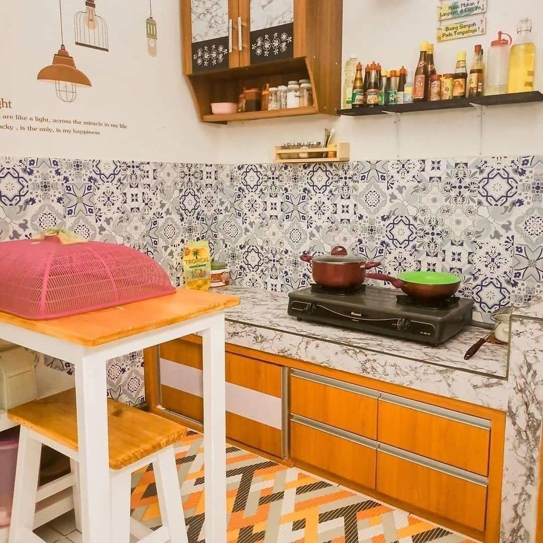 dapur minimalis milenial