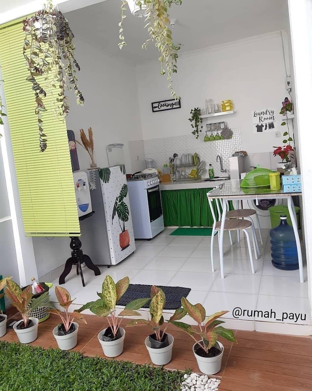 dapur belakang rumah