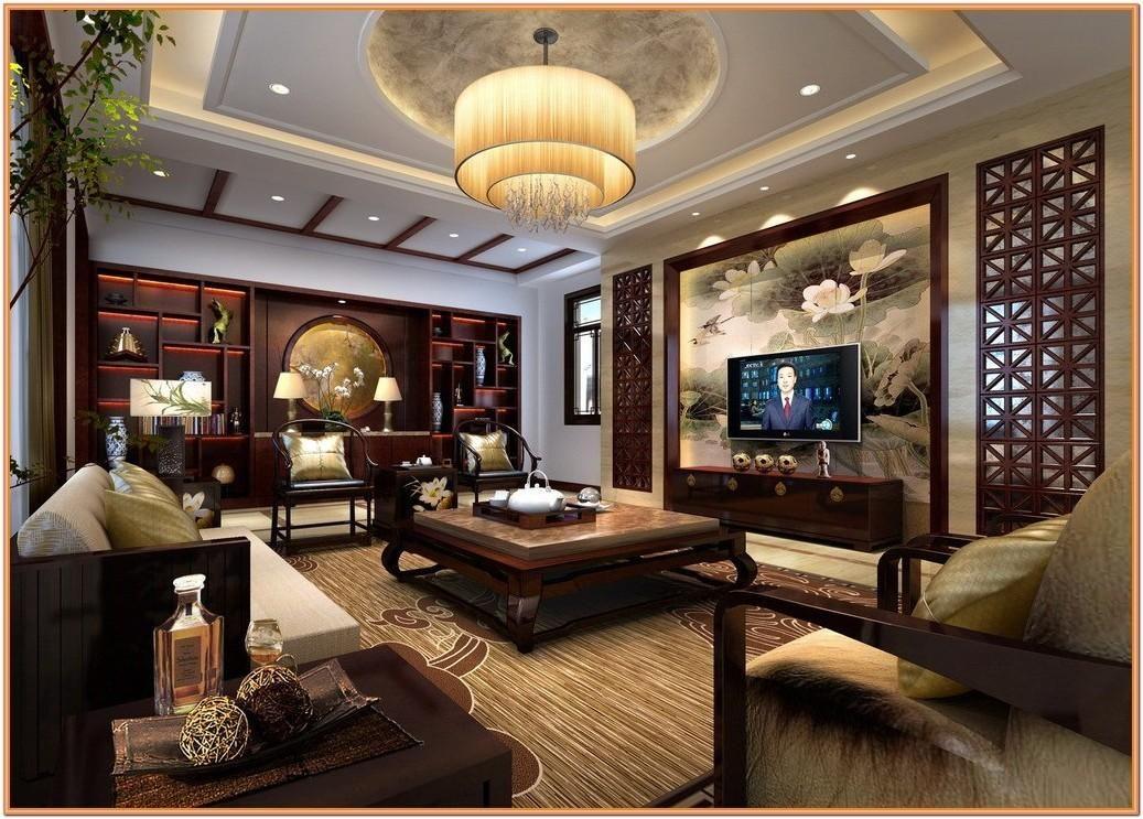Desain ruang tamu minimalis Tiongkok