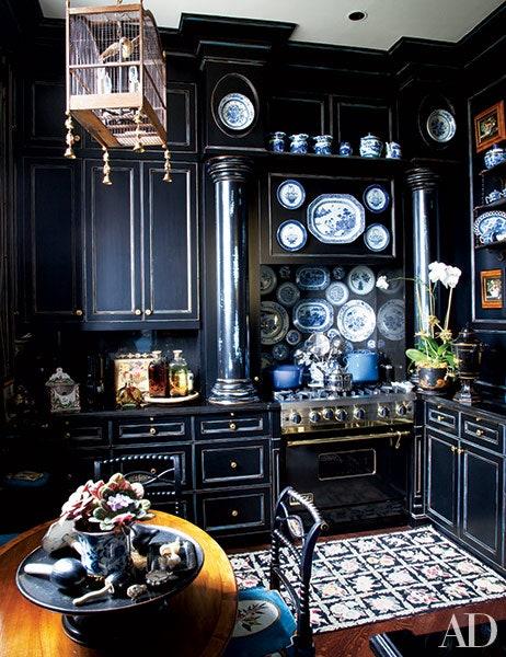 Dapur minimalis gothic