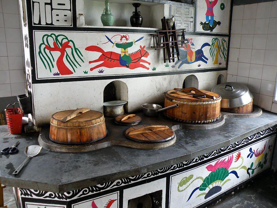 Gambar dapur minimalis dengan mural
