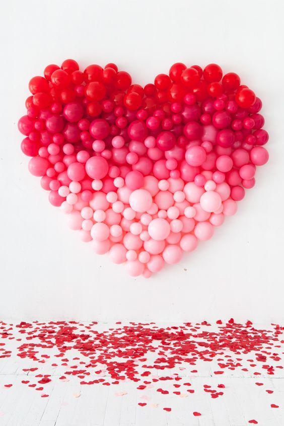dekorasi valentine