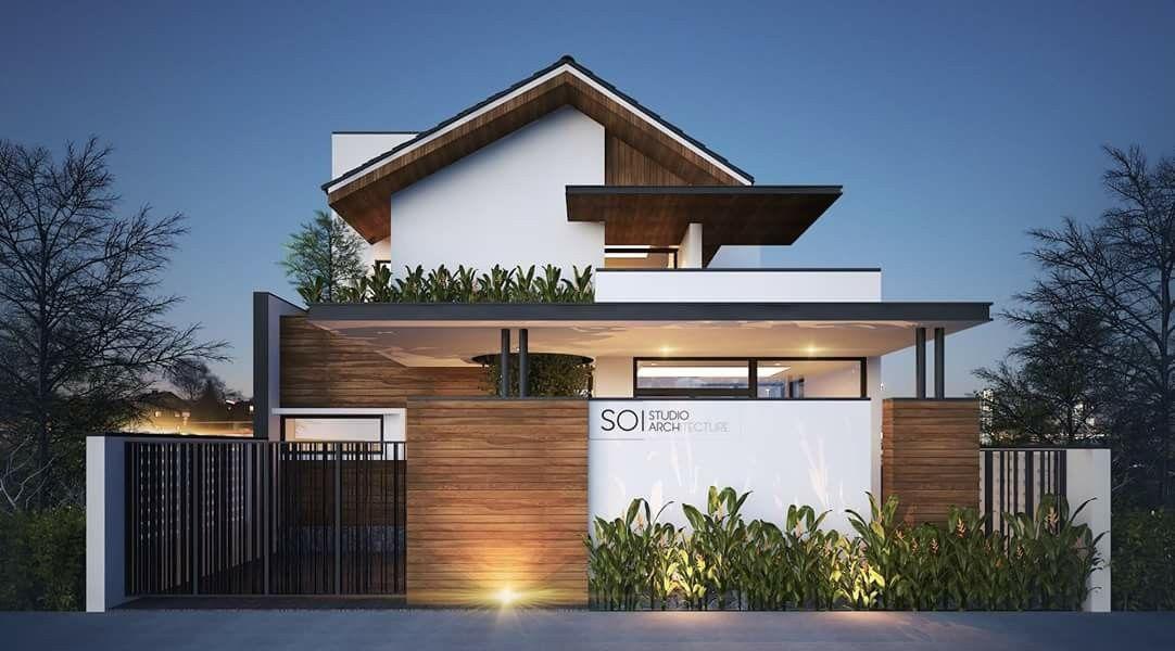 Rumah minimalis 2 lantai terbuka