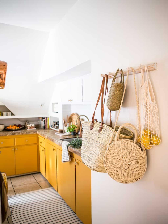 Desain dapur minimalis leter L