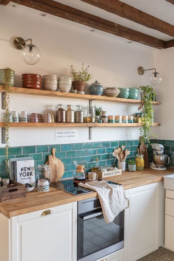 Kitchen set minimalis apartemen