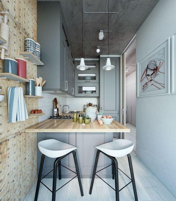Kitchen set minimalis apartemen_