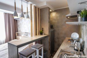 11 Desain Kitchen Set Minimalis Apartemen 2021, Tampil Lebih Estetis