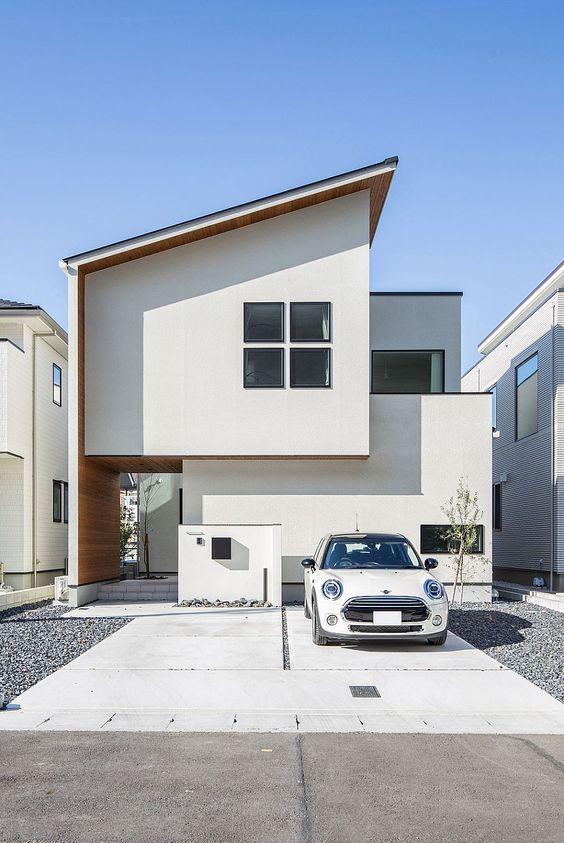 11 Desain Rumah Minimalis 2 Lantai Ala Jepang Nyaman Dan Estetis Rumah123 Com