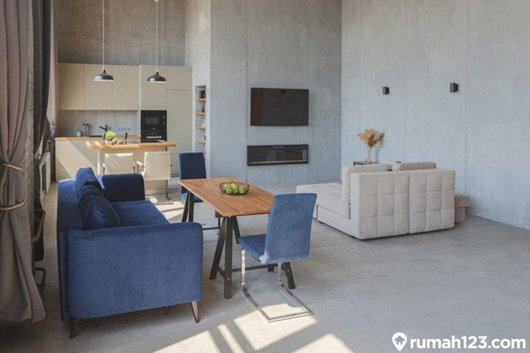 11 Desain Apartemen Studio Industrial, Terlihat Timeless dan Estetis