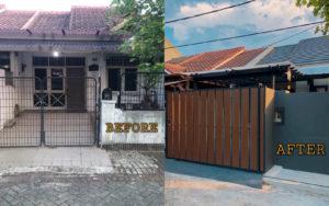 Renovasi Rumah Tua Jadi Modern Minimalis ala Hotel, Modalnya Cuma Rp100 Juta!