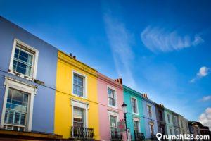 11 Desain Rumah Minimalis 2 Lantai Penuh Warna, Tampil Lebih Estetis