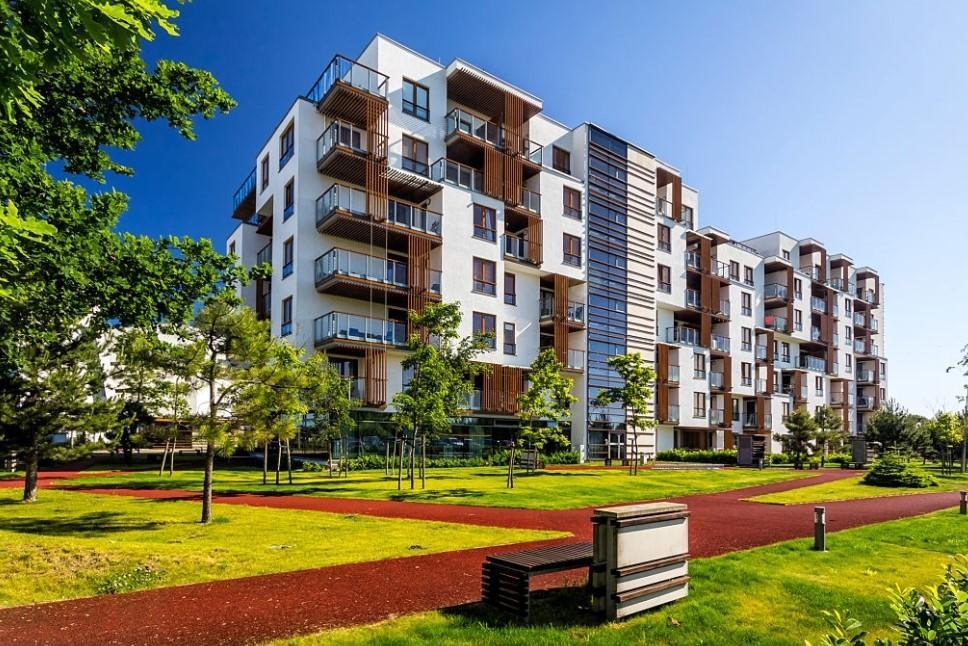 fasilitas apartemen taman terbuka hijau