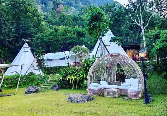 Desa Batulayang Bogor Wisata Glamping Mewah Untuk Keluarga Rumah123 Com