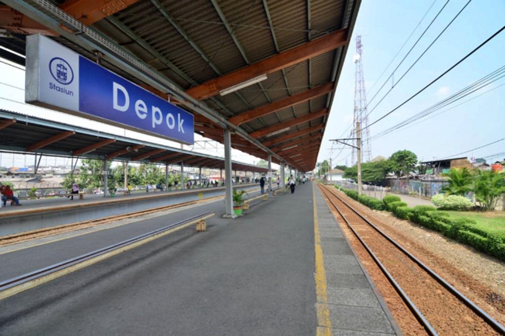 perumahan dekat stasiun