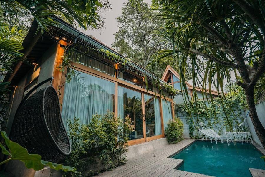 Bangunan Villa di Bali