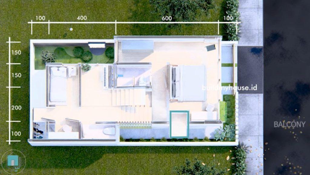 Desain Rumah Jepang Minimalis Modern 72 Meter Bisa Ditiru Di Lahan Sempit Rumah123 Com